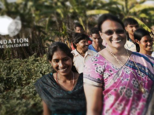 Site Internet de la fondation Terre Solidaire