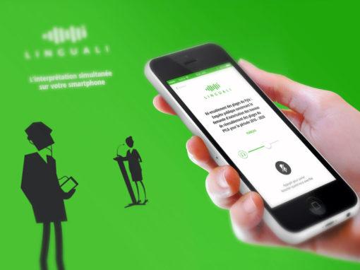 Design d'application Linguali
