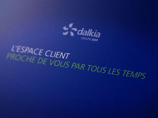Présentation vidéo de l'espace client de Dalkia