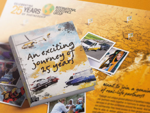 Campagne des 25 ans d'International Assistance Group