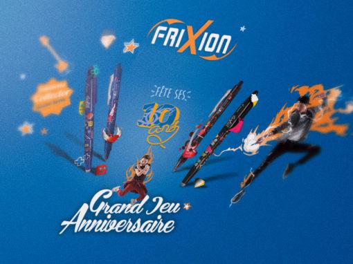 Jeu concours «Frixion 10 ans»
