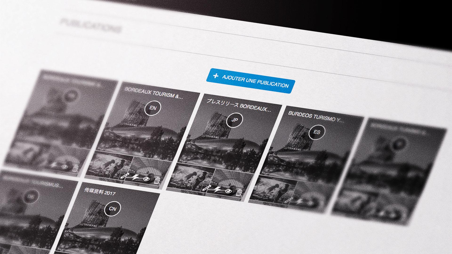 Web App dossier de presse numérique
