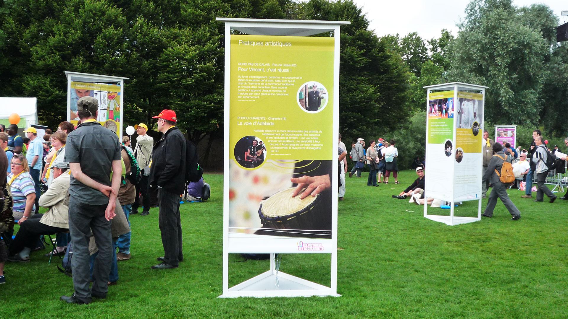 Panneaux d'expo