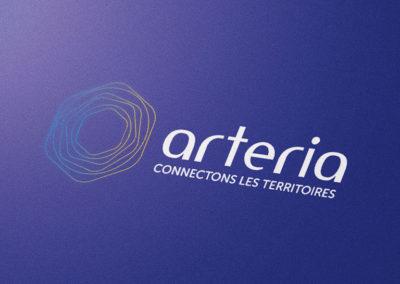 Refonte du logo et de l'identité visuelle du groupe Arteria