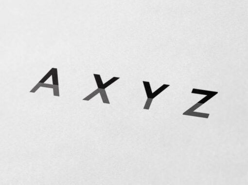 Refonte du logo et du site Web de l'agence AXYZ