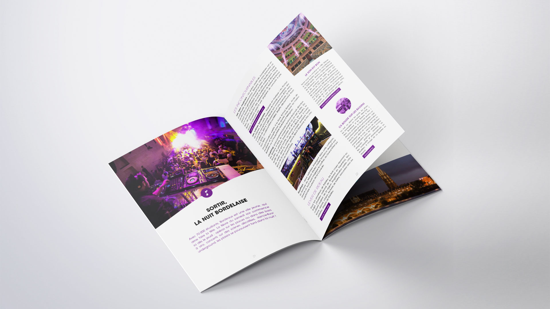 Page brochure print