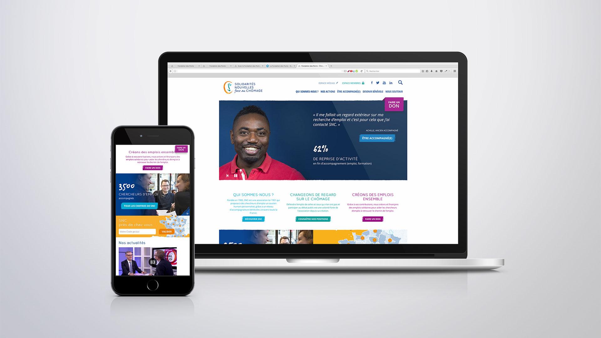 Site Internet de l'association SNC