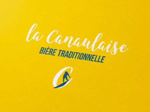 Logo et identité visuelle des Bières la Canaulaise