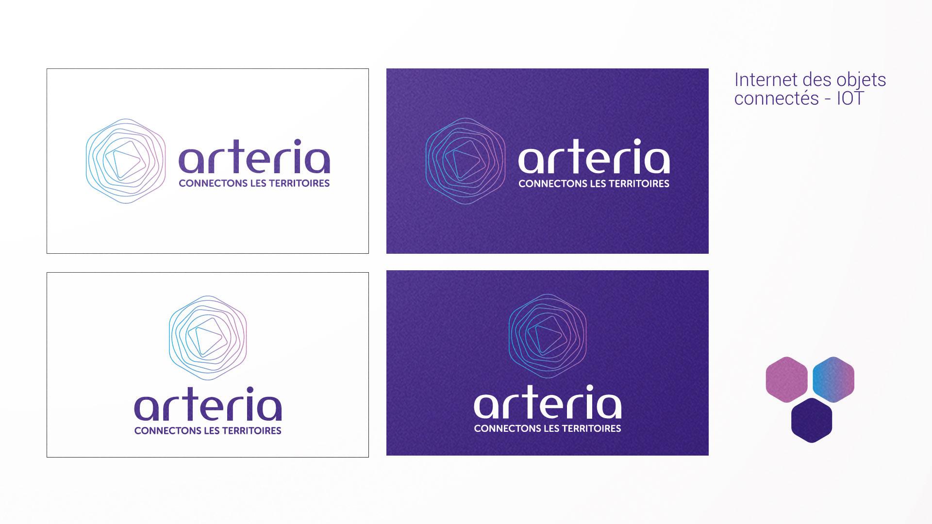 Logo Arteria IOT