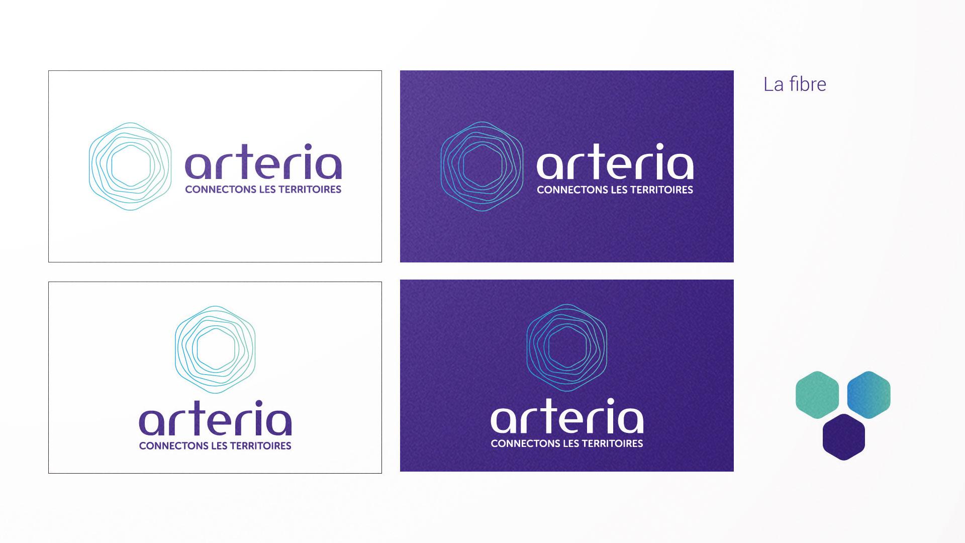 Logo Arteria fibres optiques