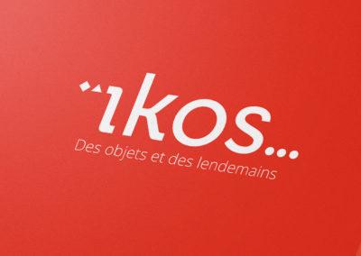 Logo et identité visuelle du projet ïkos