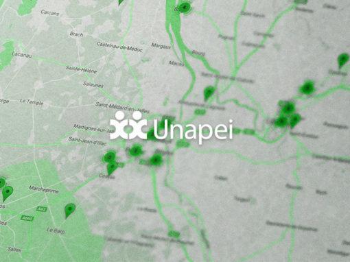 Recensement en ligne et annuaire cartographique de l'Unapei