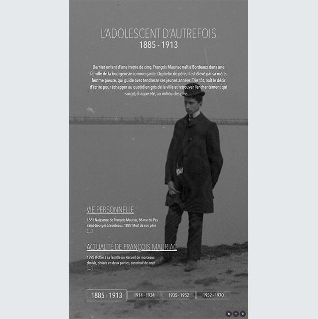 Borne Interactive - Mauriac 1885-1913