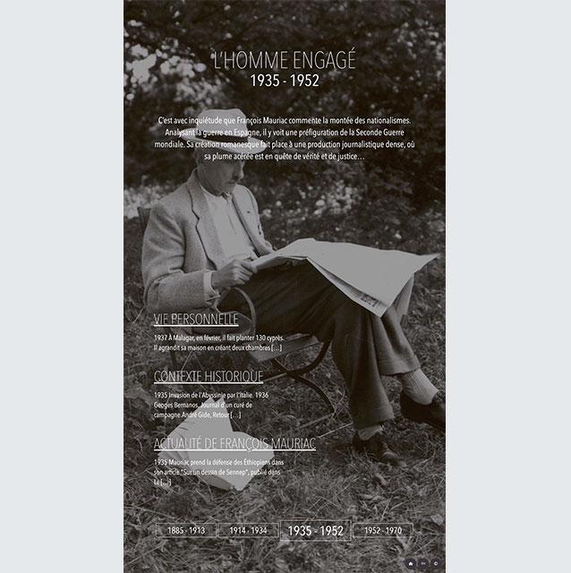 Borne Interactive - Mauriac 1935-1952