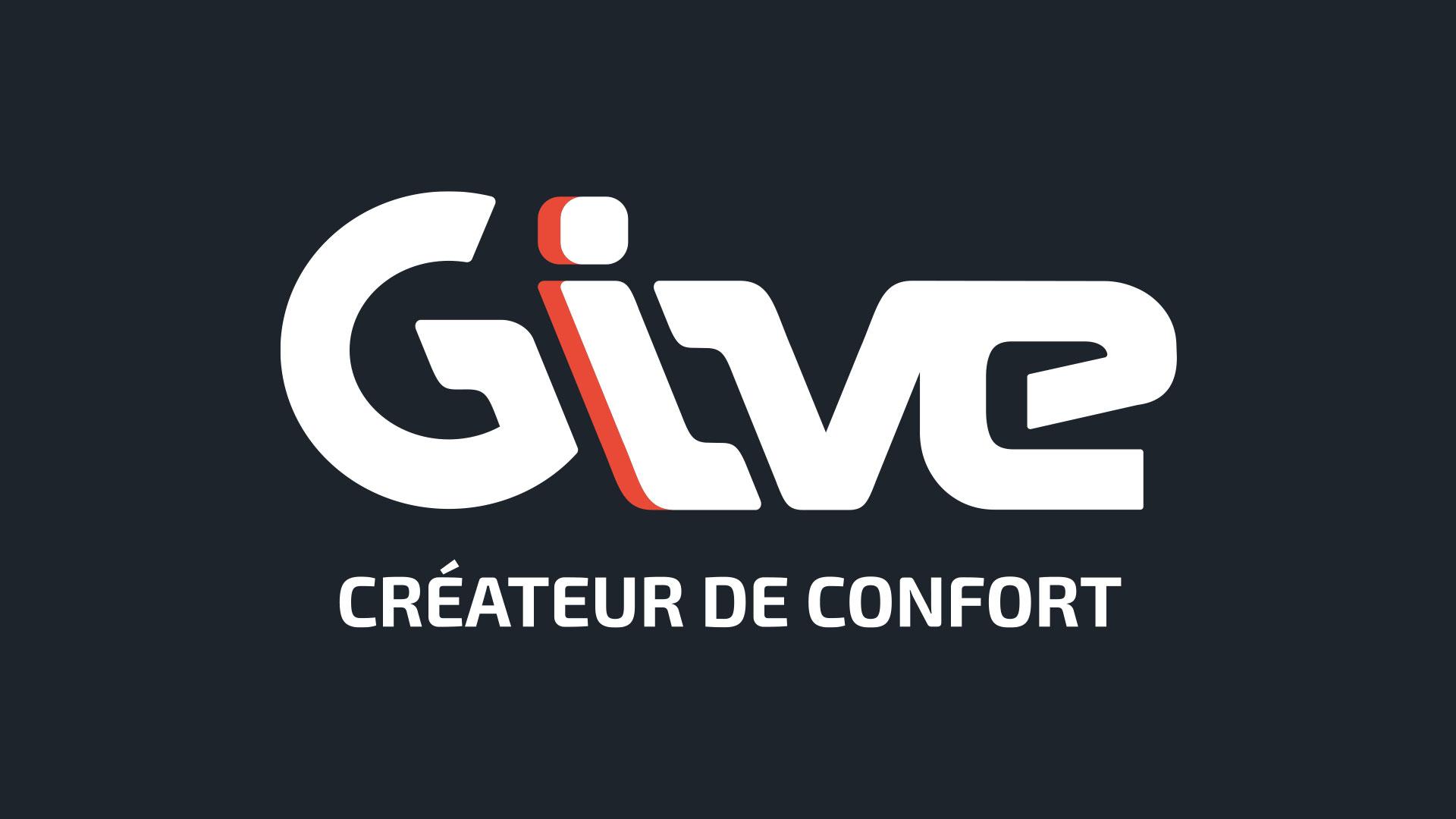 Logo Give fond noir