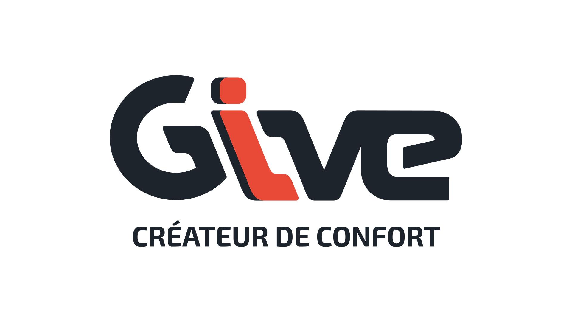 Logo Give fond blanc