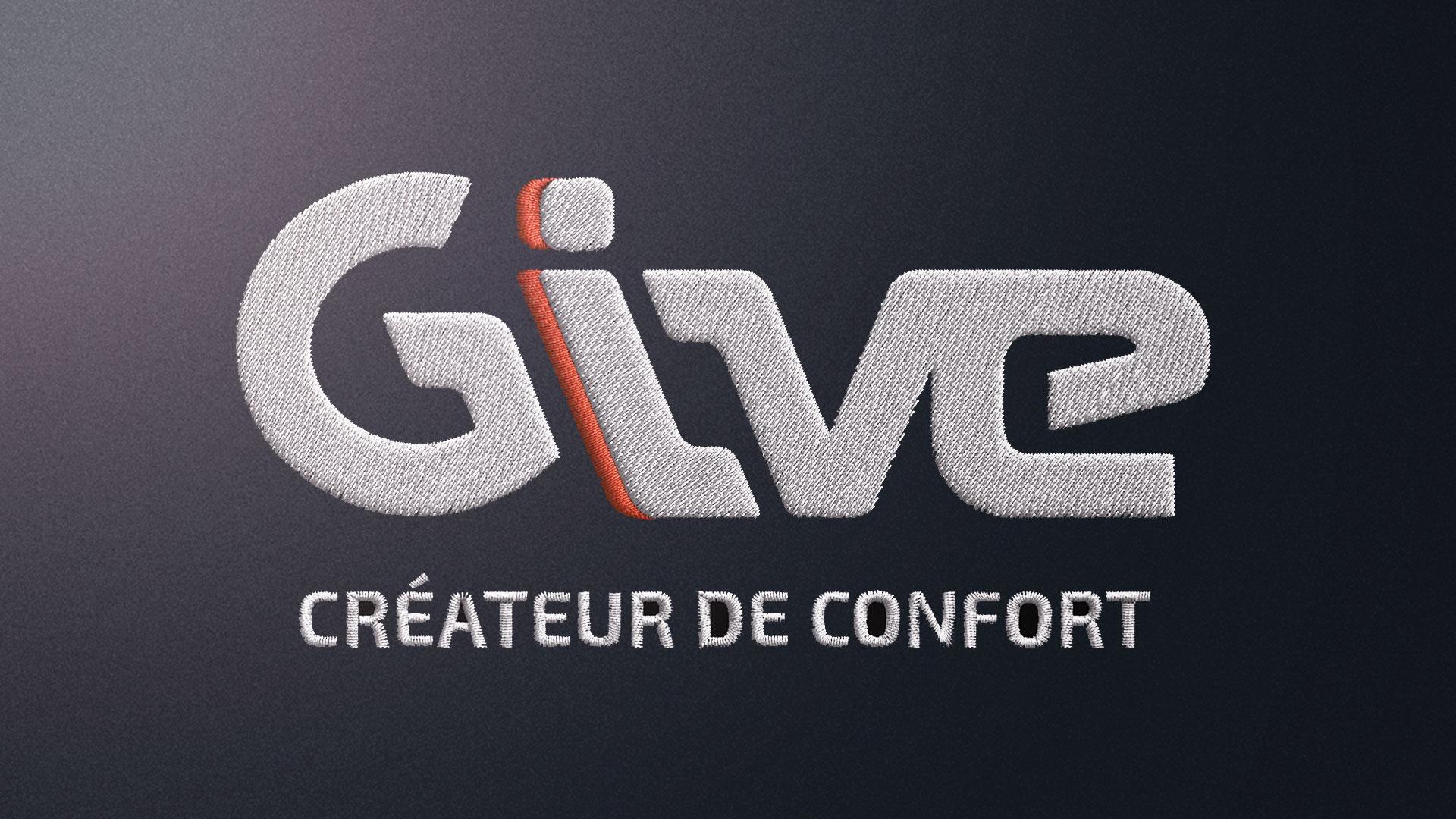Logo Give tissé