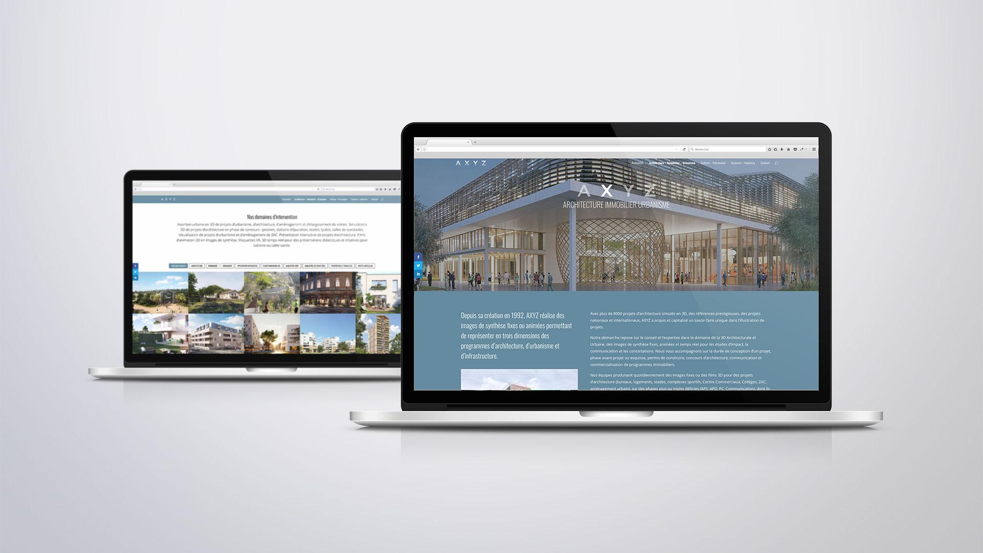 Site Internet - Pages Architecture