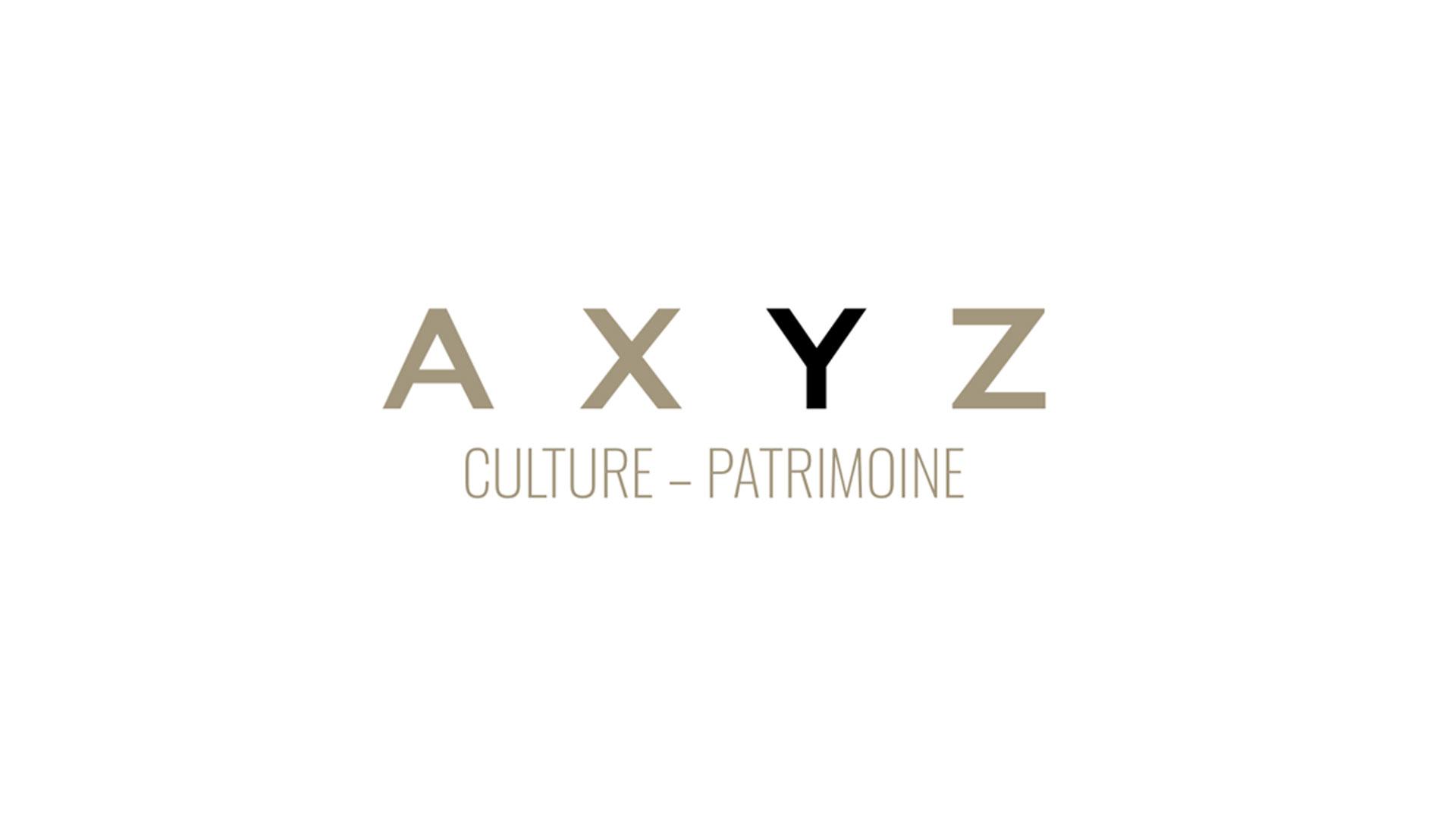 logo AXYZ Culture & Patrimoine